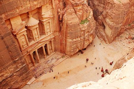 una semana en jordania