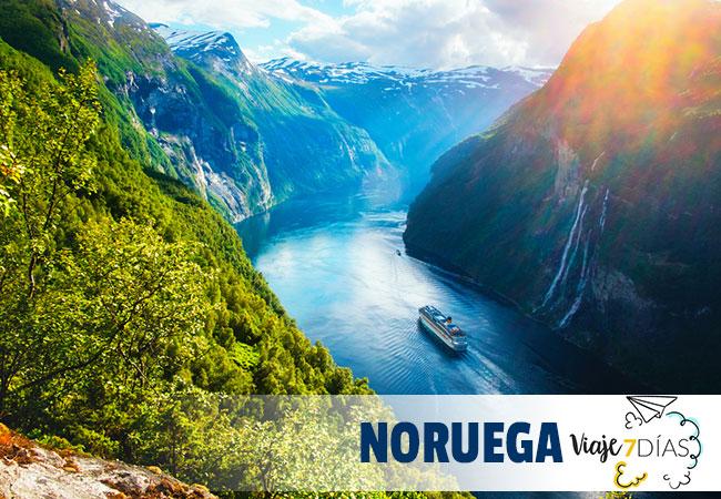 que ver en noruega en 7 dias