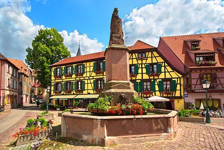Tour por Alsacia