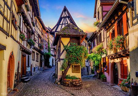 Los pueblos mas bonitos de Alsacia