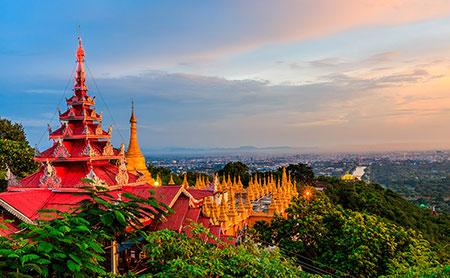 circuito de 7 dias por myanmar