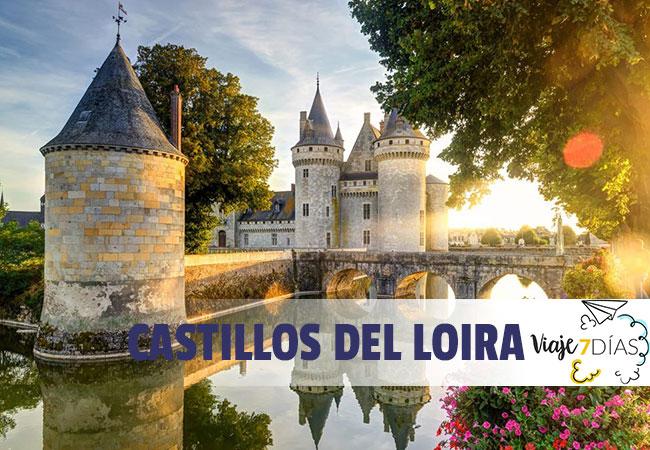 Ruta de Los castillos del Loira en 7 días