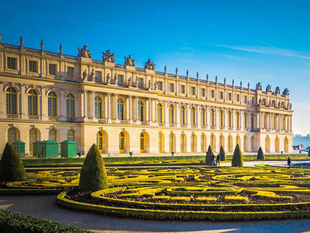 Ir al palacio de Versalles