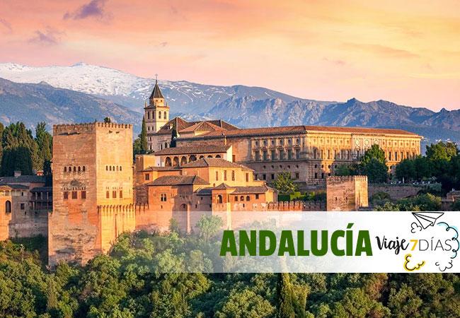 ¿Qué ver en Andalucía en 7 Días?