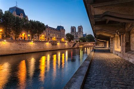 Notre Dame y el Barrio latino