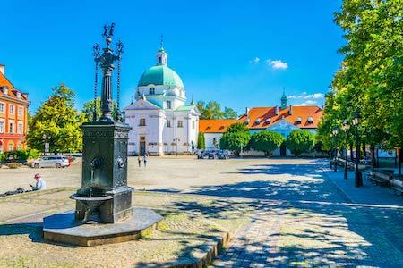 la plaza del mercado de la ciudad de varsovia