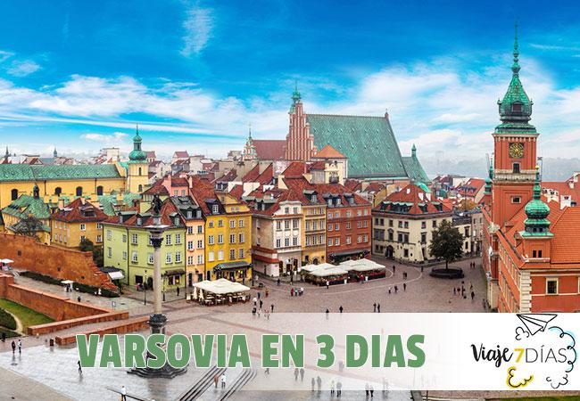 Que ver en Varsovia en 3 dias