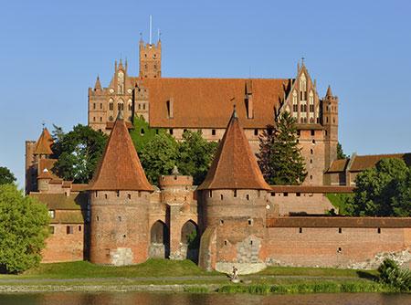 Castillo Malbork en Gdansk
