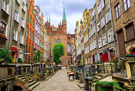 ciudad vieja Gdansk