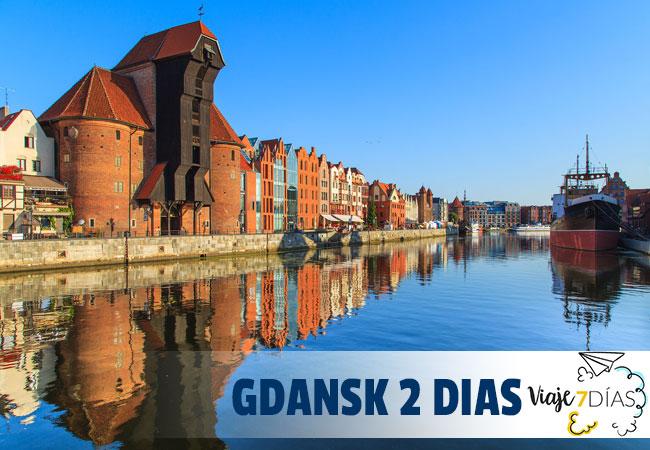 Que ver en Gdansk en dos días