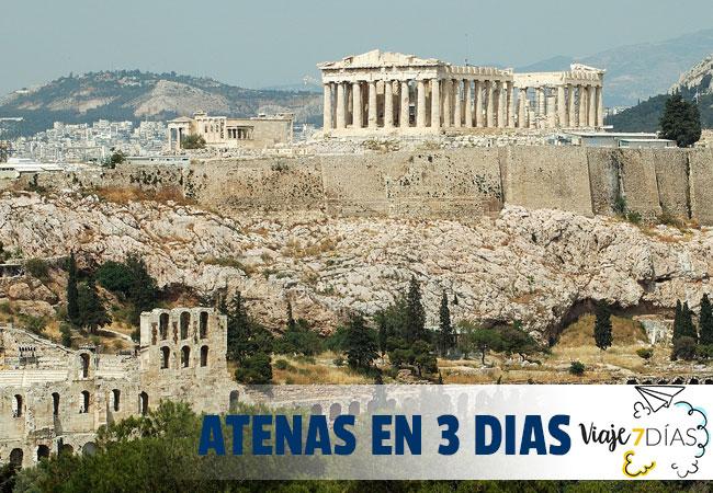 Que ver en Atenas en 3 dias