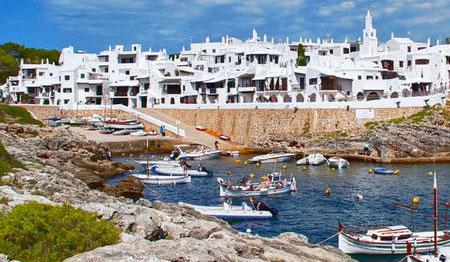 Pueblos de pescadores menorca