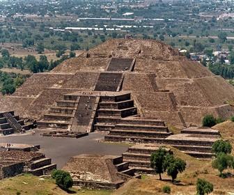 Pirámide del sol y la luna México