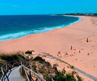 Playa de Novo Santi Petri Cádiz