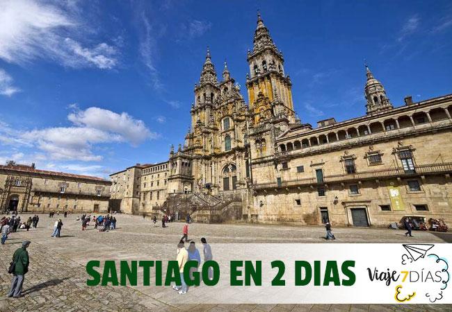 Santiago de Compostela en dos días