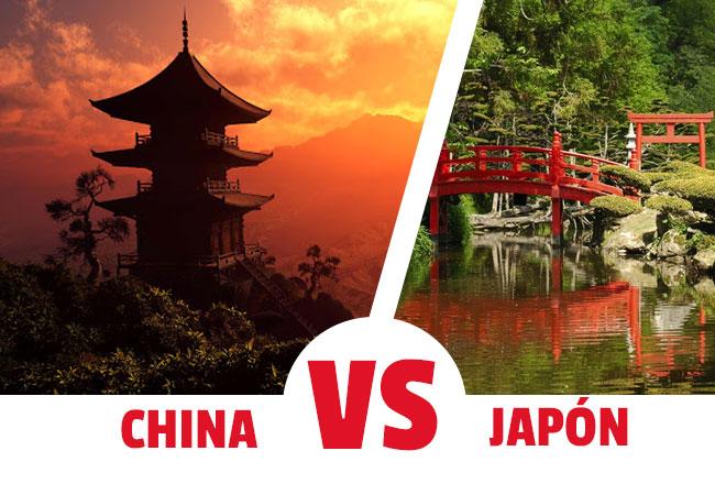 viajar a china o a japon