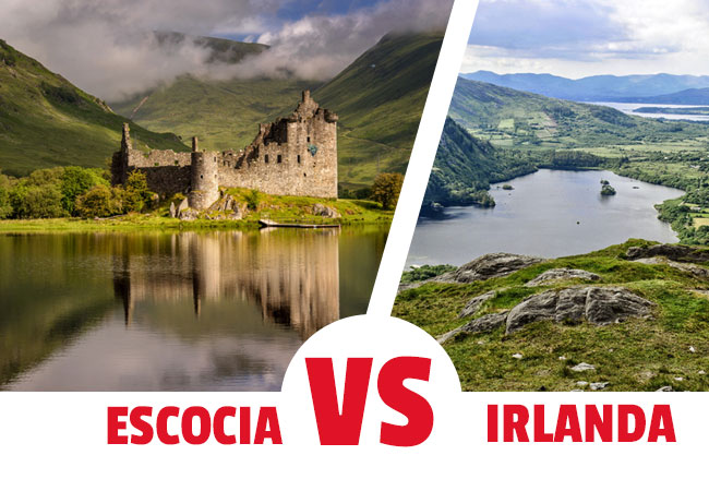 Viajar a Escocia o a Irlanda