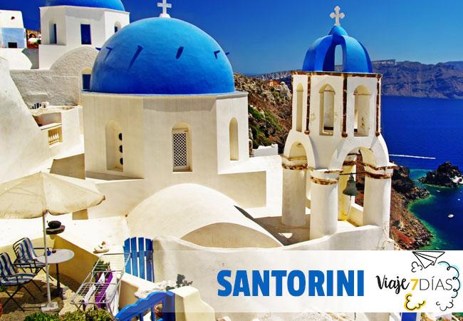 Santorini en dos días